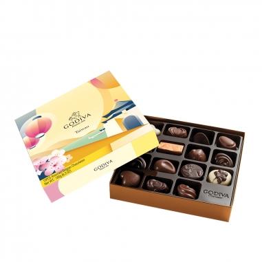 GodivaGodiva 台灣風景盒-巧克力