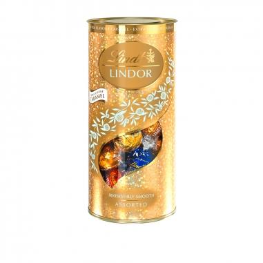 Lindt瑞士蓮 《聖誕限定》金色綜合巧克力球聖誔版