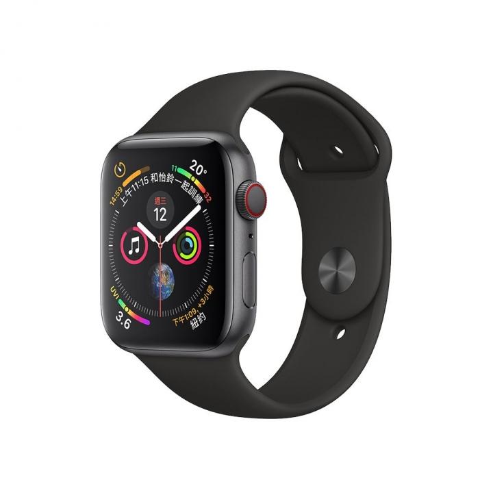 Apple Watch Series 4 Space Gray (GPS + Cellular)Apple Watch Series 4太空灰色鋁金屬錶殼44mm(GPS+行動網路)
