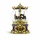 JARLL ART - 仿古董遊樂馬音樂鈴水晶球11120-59315_縮圖