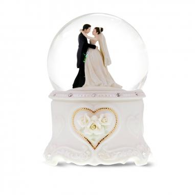 JARLL ART讚爾藝術 婚禮上的華爾茲音樂鈴水晶球