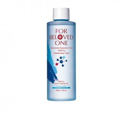 For Beloved One寵愛之名 多分子玻尿酸藍銅保濕化妝水