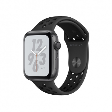 AppleApple Apple Watch Series4 Nike+ 太空灰色鋁金屬錶殼-灰配黑色44mm(GPS)