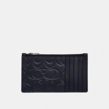 Coach蔻馳(精品) ZIP CARD CASE卡夾