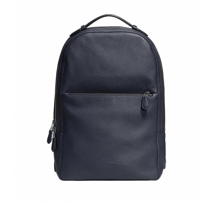 COACH METROPOLITAN SOFT BACKPACK IN REFINED PEBBLE LEATHER後背包