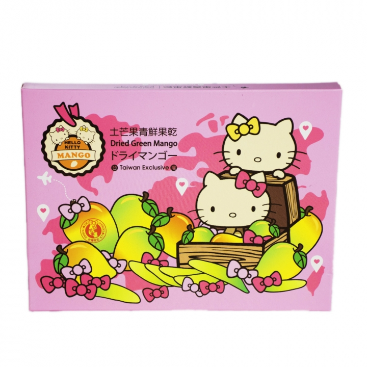 Hello Kitty旅行好姐妹土芒果青果乾