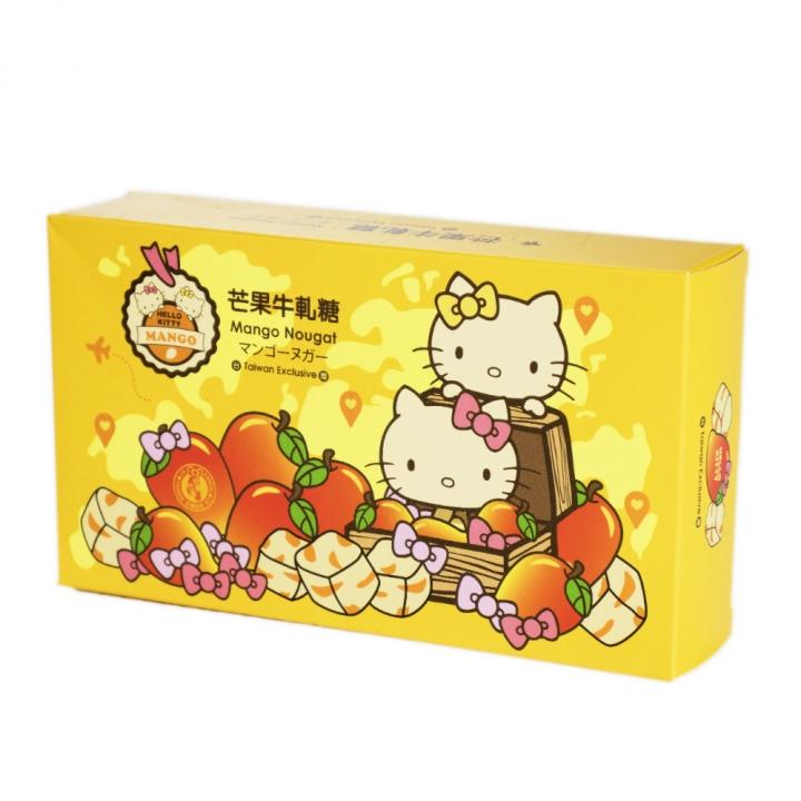 Hello Kitty旅行好姐妹芒果牛軋糖