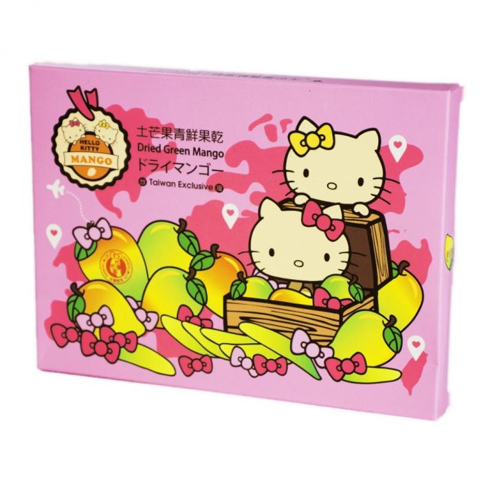 Hello Kitty旅行好姐妹土芒果青果乾