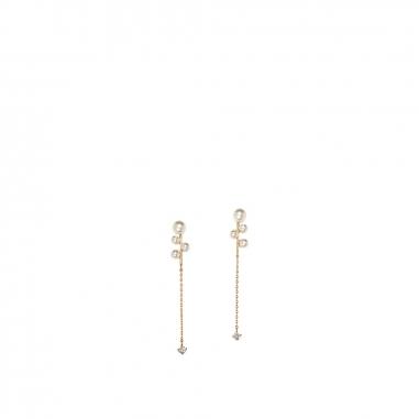GrosseGrosse Stylist pearl穿孔耳環