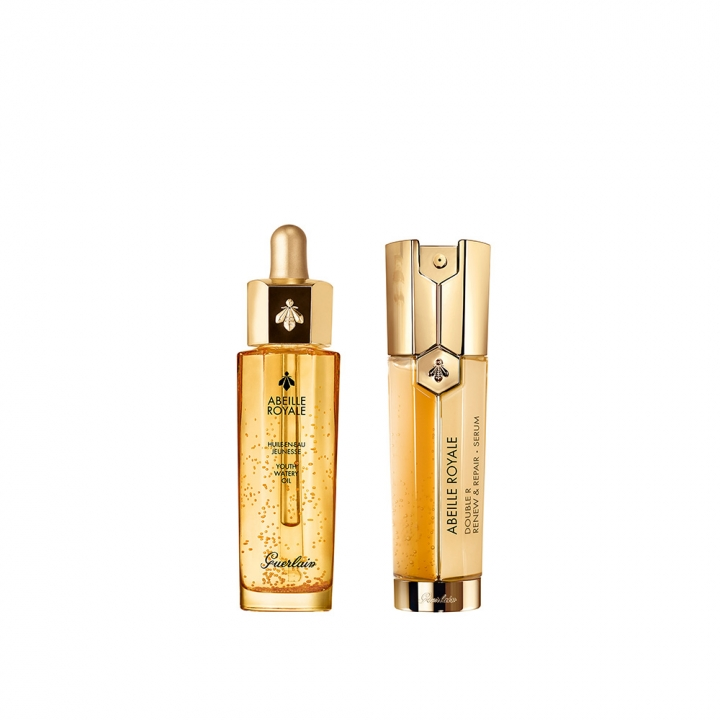 ABEILLE ROYALE OIL & DOUBLE R SERUM DUO皇家蜂王乳修護雙件特惠組