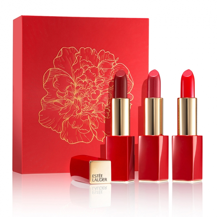 The Red Lipstick Collection Pure Color Envy Sculpting Lipstick《新年限定》Pure Color Envy絕對慾望奢華潤唇膏-嫣紅特惠組