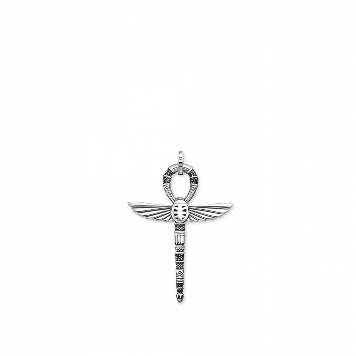PENDANT CROSS OF LIFE ANKH WITH SCARABCROSS OF LIFE ANKH WITH SCARAB吊墜