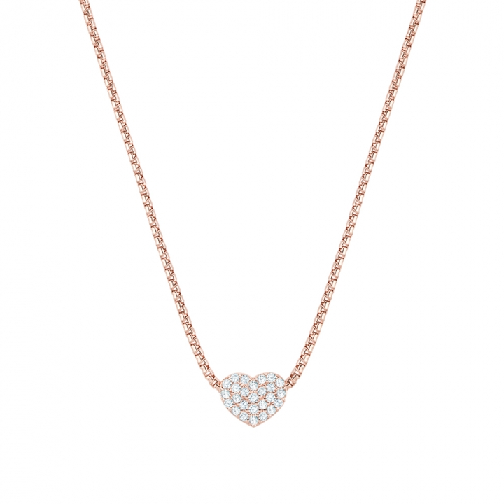 Cubic Heart NecklaceCubic Heart玫瑰金項鍊