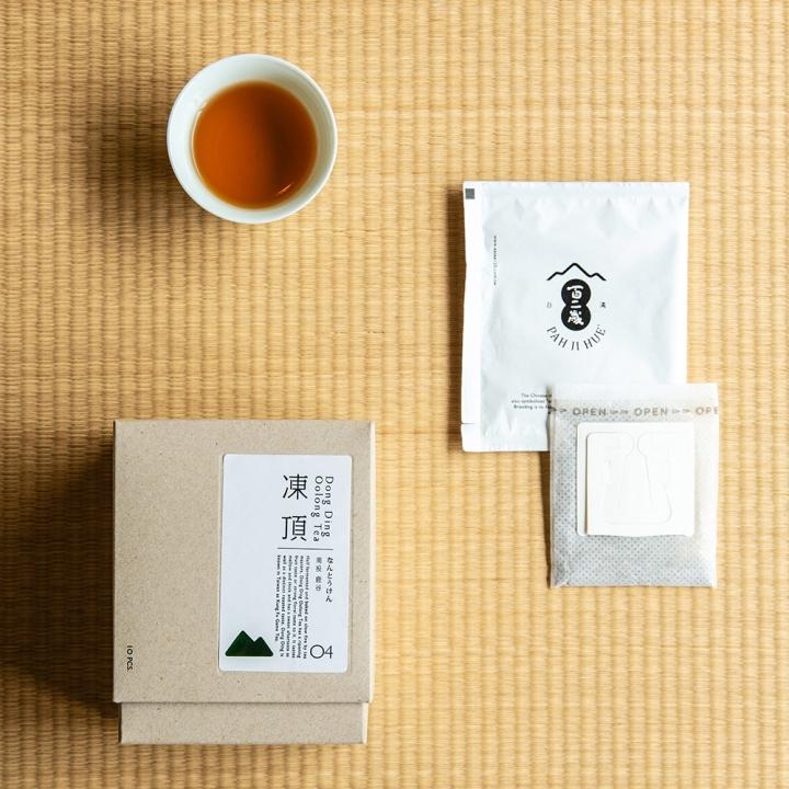 掛耳式日月潭紅茶
