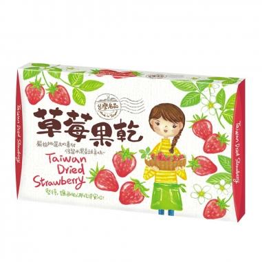 泰泉泰泉 台灣名品盒裝-草莓果乾