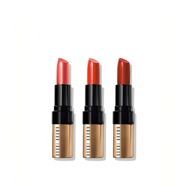Bobbi Brown芭比波朗 個性魅唇-金緻奢華唇膏三件特惠組