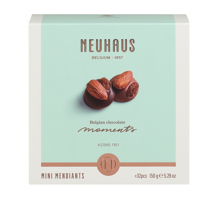Belgian Chocolate Moment-Mini mendiants比利時堅果巧克力