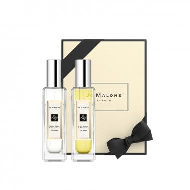 Jo Malone LondonJo Malone London 古龍水系列兩件特惠組-鼠尾草與海鹽和青檸、羅勒與柑橘