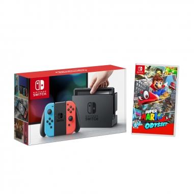 Nintendo任天堂 任天堂SWITCH主機+奧得賽遊戲片