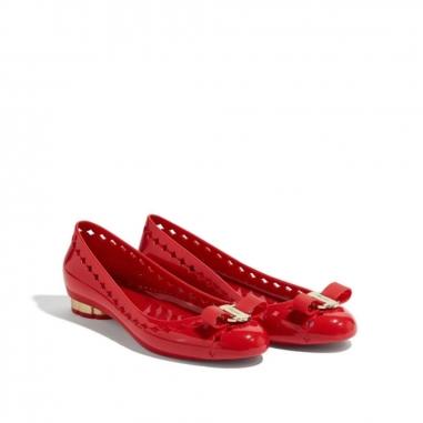 Salvatore Ferragamo費拉格慕 果凍膠鞋