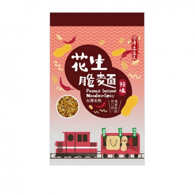 KYFOOD冠億 花生脆麵(辣味)