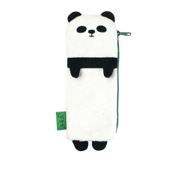 Fuzzy Pencil Case Panda熊貓絨毛筆袋