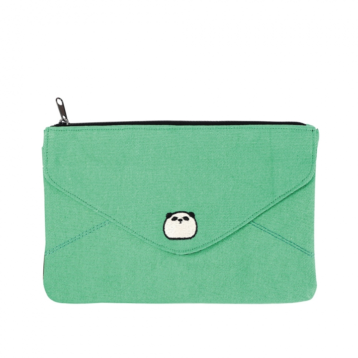 Envelope Shaped Bag Panda postman熊貓信封萬用包 熊貓郵差信封