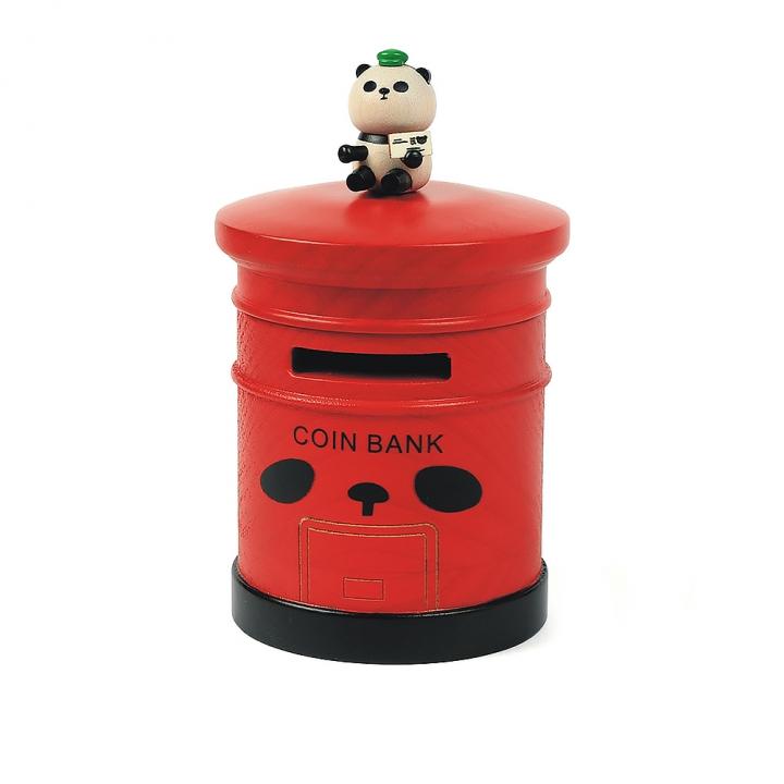 Money Box Panda mail box熊貓存錢筒 熊貓郵箱