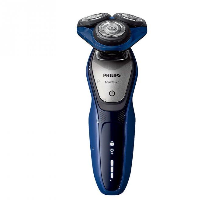Philips飛利浦 淨藍系列三刀頭乾濕兩用電鬍刀S5600