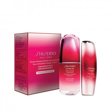 Shiseido資生堂 紅妍肌活臉與眼部護理特惠組