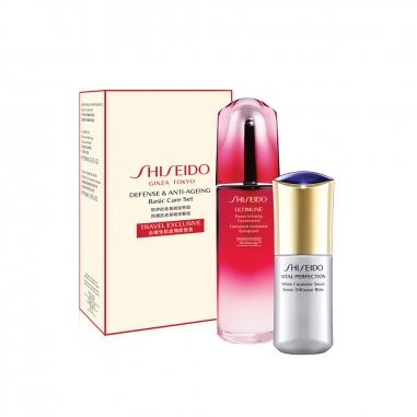 Shiseido資生堂 防護抗老基礎保養特惠組