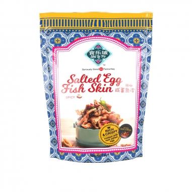 Shi Le Po食樂坡 辣味鹹蛋魚皮