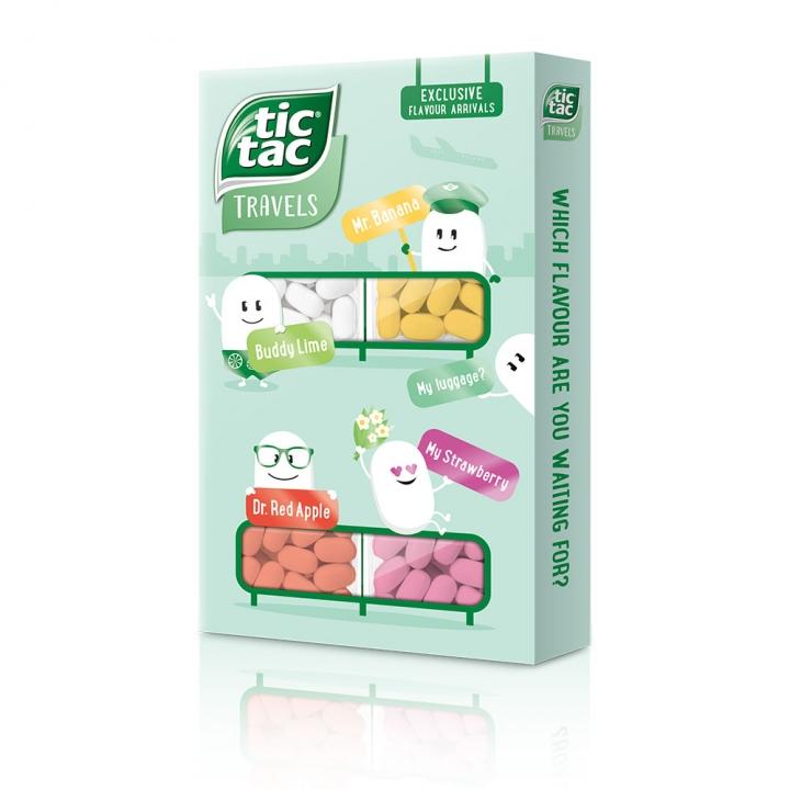 Tic Tac MultiflavourTic Tac 水果涼糖