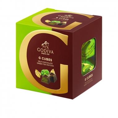 GodivaGodiva G Cube綠茶松露牛奶巧克力