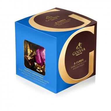 GodivaGodiva G Cube 精選松露黑巧克力