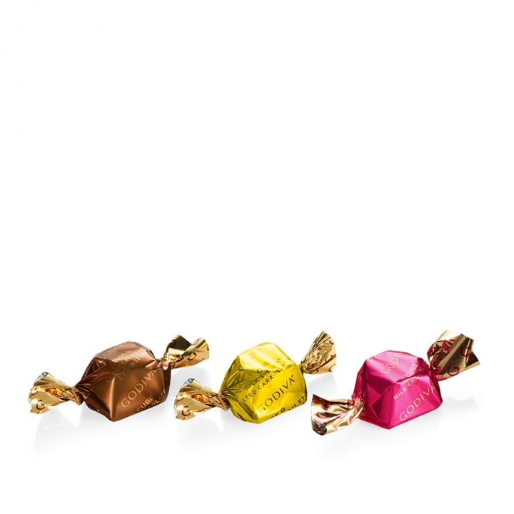 Milk Chocolate Assortment G Cube TruffleG Cube 精選松露牛奶巧克力