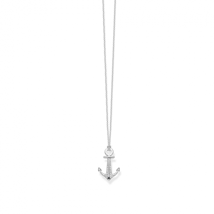 necklace anchorTS船錨項鍊