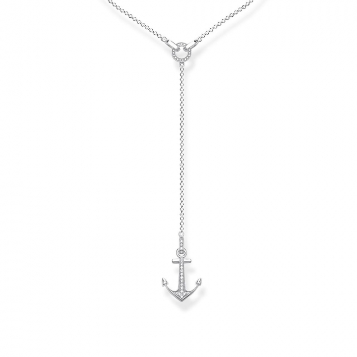 necklace anchorTS船錨Y字鍊