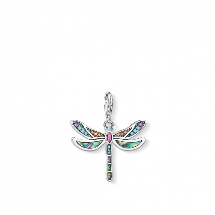 Charm pendant dragonflyTS彩色蜻蜓CHARM