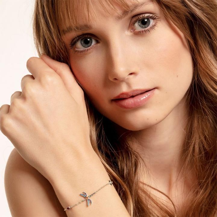 bracelet dragonflyTS彩色蜻蜓手鍊