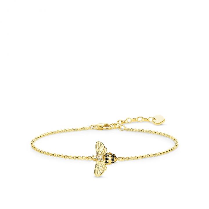 bracelet beeTS蜜蜂金手鍊