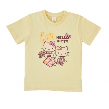 Hello KittyHello Kitty Hello Kitty好姐妹兒童T恤-地圖款/4