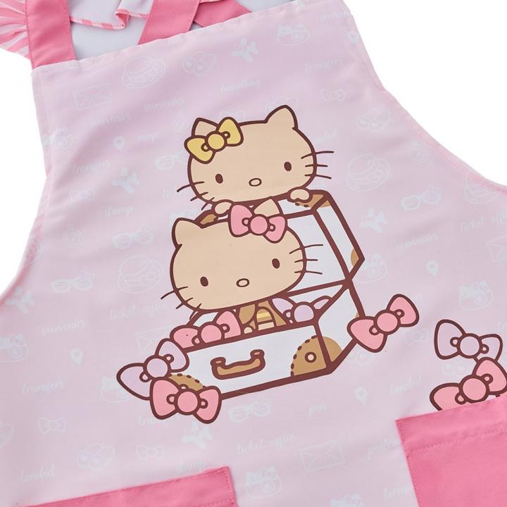 Hello Kitty旅行好姐妹圍裙
