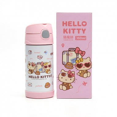 Hello KittyHello Kitty Hello Kitty旅行好姐妹兒童吸管瓶