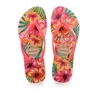 Havaianas哈瓦仕 SLIM HIBISCO夾腳拖鞋