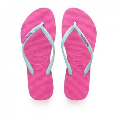 Havaianas哈瓦仕 SLIM LOGO POP夾腳拖鞋