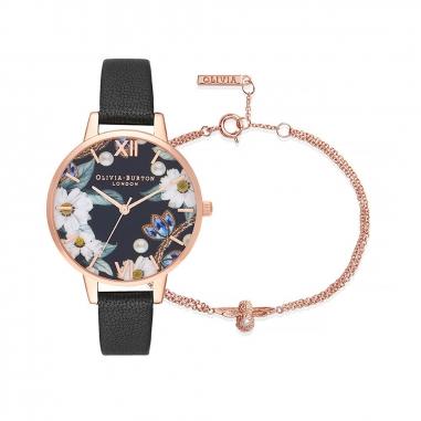 Olivia BurtonOlivia Burton BEJEWELLED FLORALS手錶組