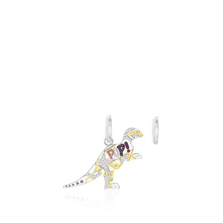 POP ART EarringsPOP ART鑲恐龍耳環