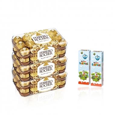 Ferrero費列羅 金莎健達巧克力特惠組