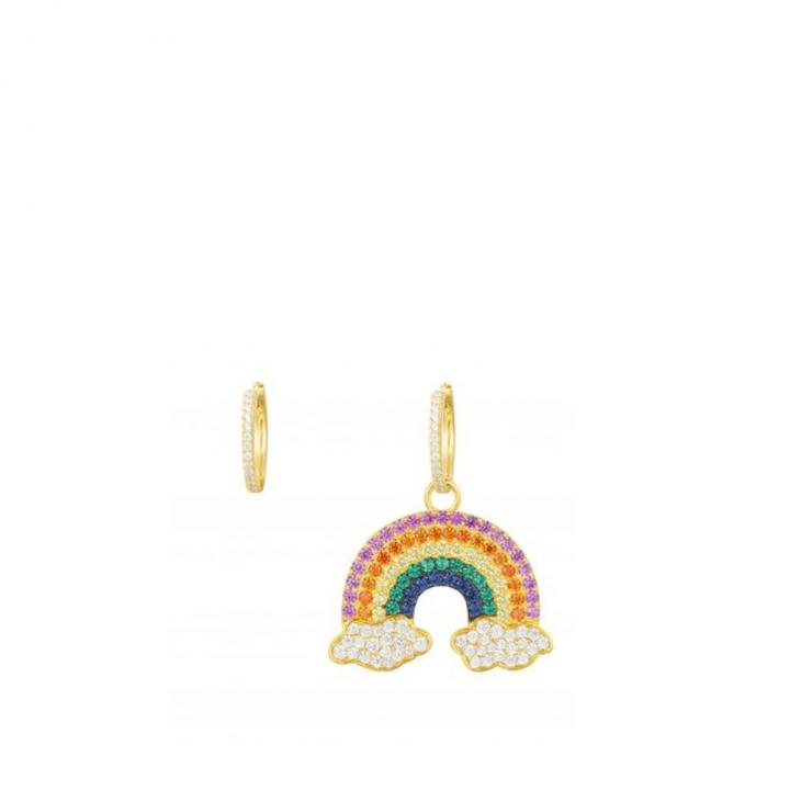 Arc En Ciel Rainbow EarringsARC EN CIEL彩虹金耳環